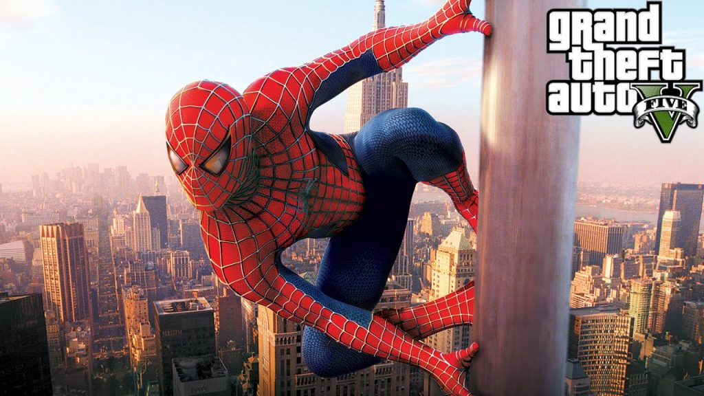 PS4 Marvel Spider-Man mod for Grand Theft Auto 5 is now available