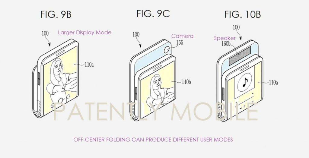 Samsung Receives a Patent for a Vertical Folding Phone