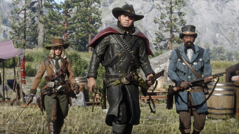 Red Dead Online bounty hunting coming