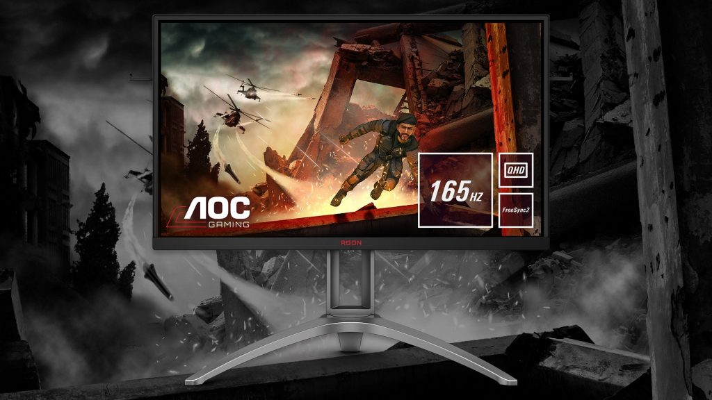 AOC AG273QX player monitor introduced