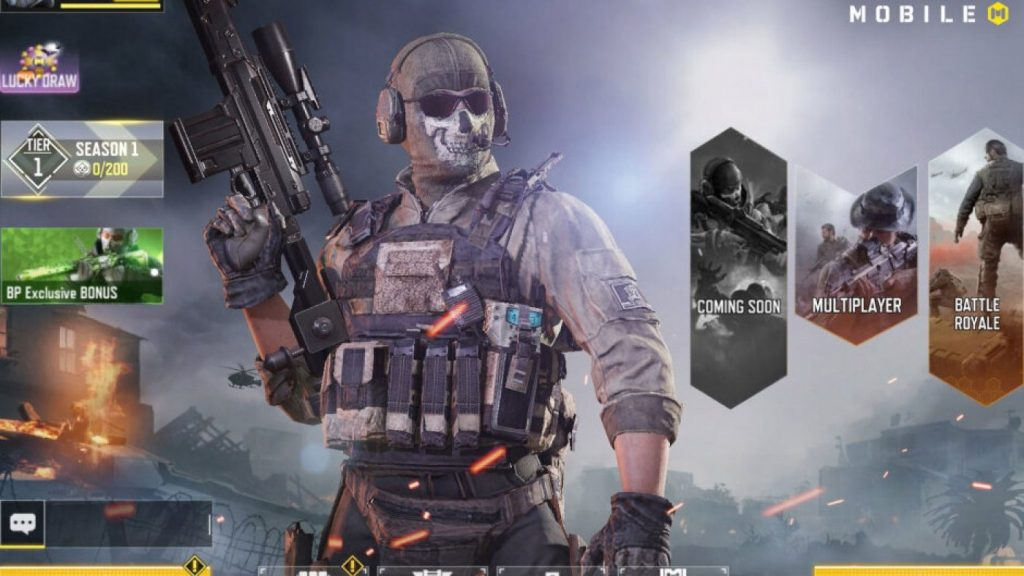 cropped Call of Duty Mobile is now available for download
