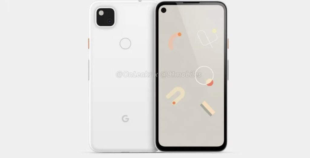 Google Pixel 4a camera will come with a perforated screen