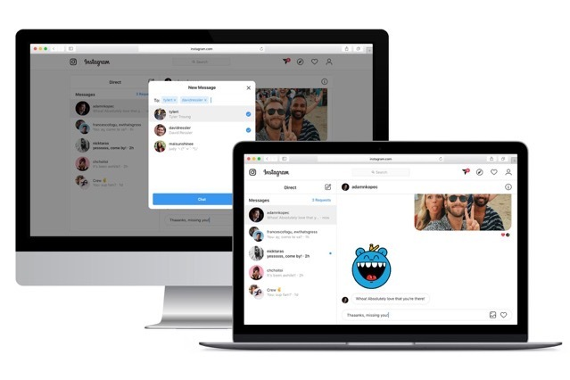 Instagram DM are finally available on the web