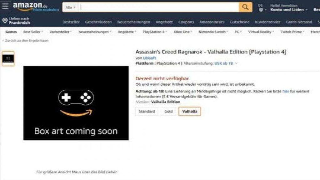 New Assassins Creed Game Name and Theme Revealed on Amazon