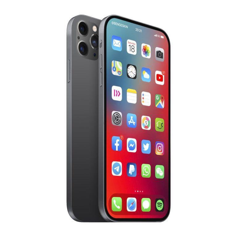 iPhone 13 concept without leaving the iPhone 12 1