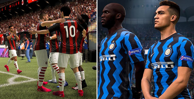 FIFA 21 EA Sports signs license agreement with Milan and Inter