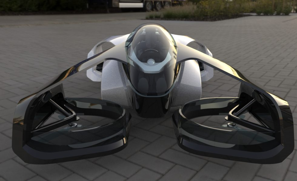 Flying cars have become a reality in Japan 1