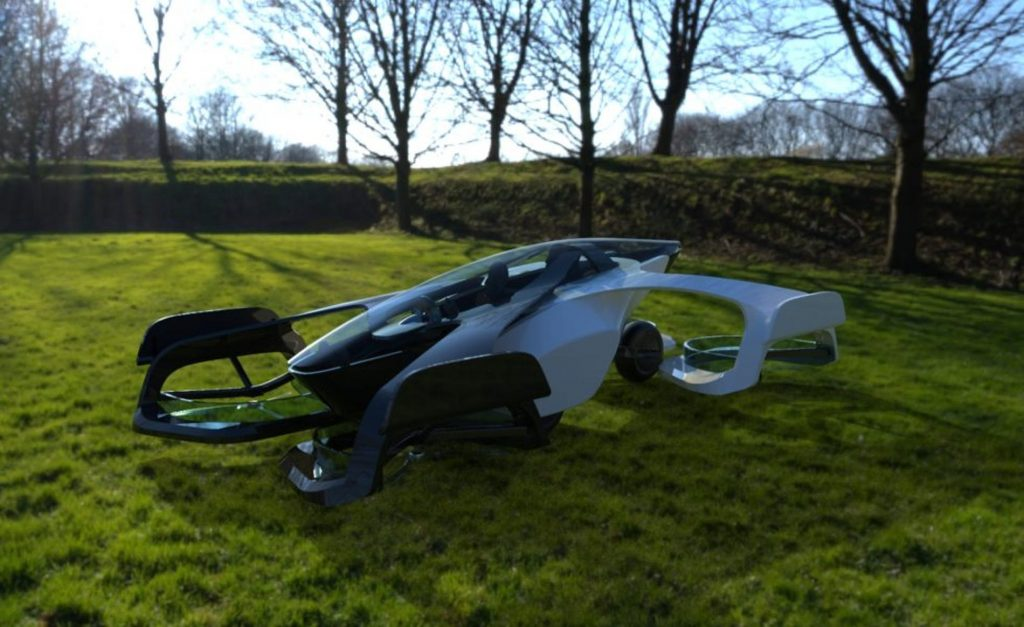 Flying cars have become a reality in Japan