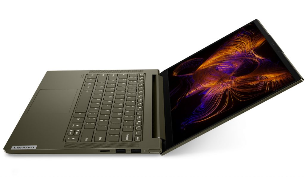 Lenovo announced a fashionable and lightweight new Yoga Slim 7i laptop