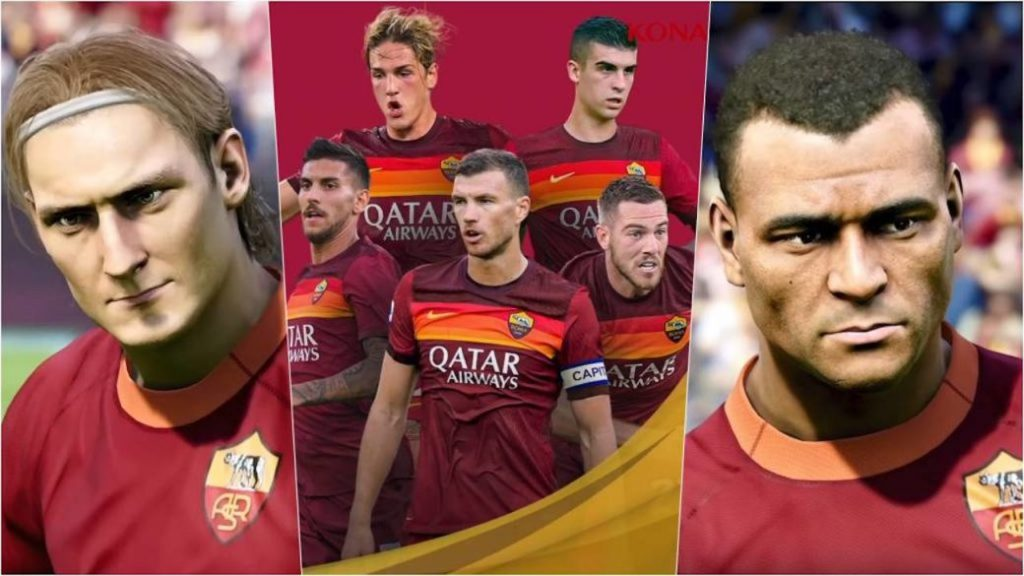 Roma themed video released for eFootball PES 2021