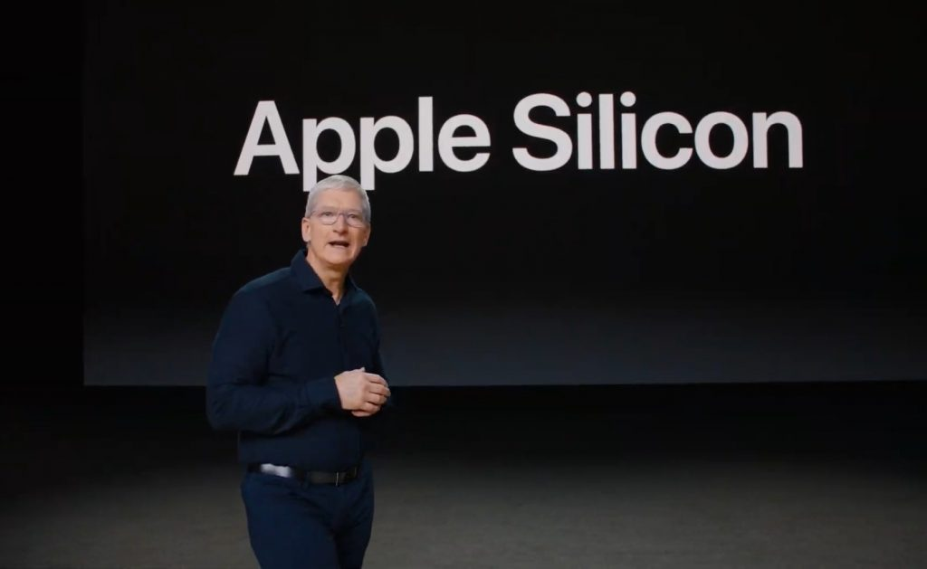 What video cards will be on the Mac with the Apple processor