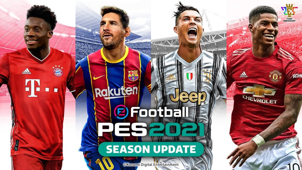 eFootball PES 2021 the stars of the season update cover became known