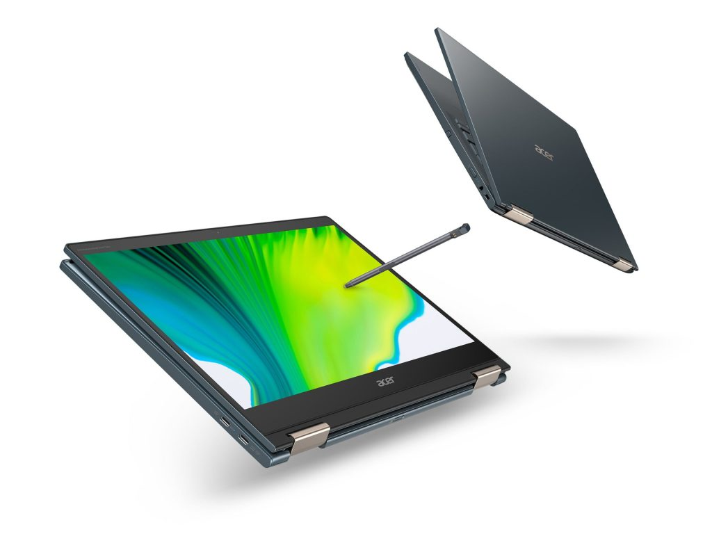 Acer Announces Spin 7 First 360 Degree Foldable Laptop with 5G Support