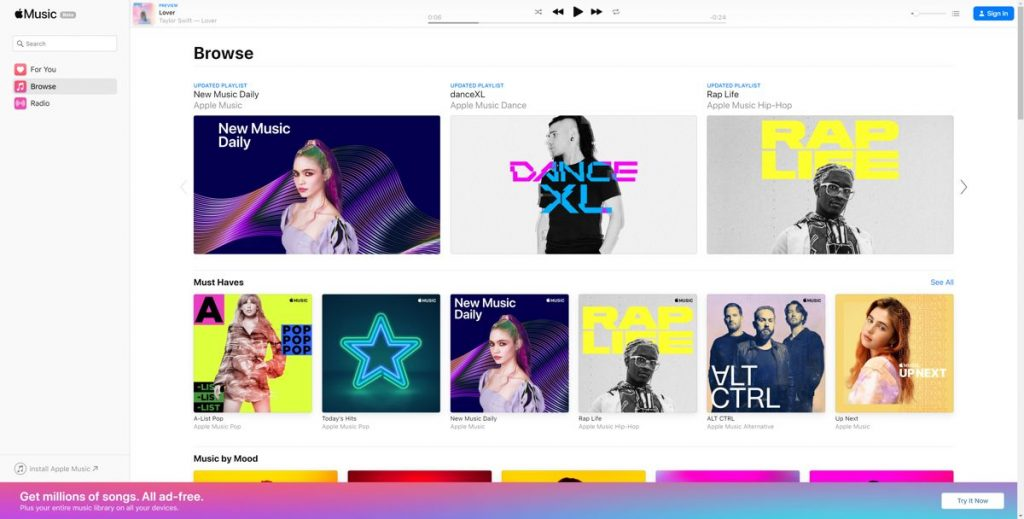Apple Music is growing fast 1