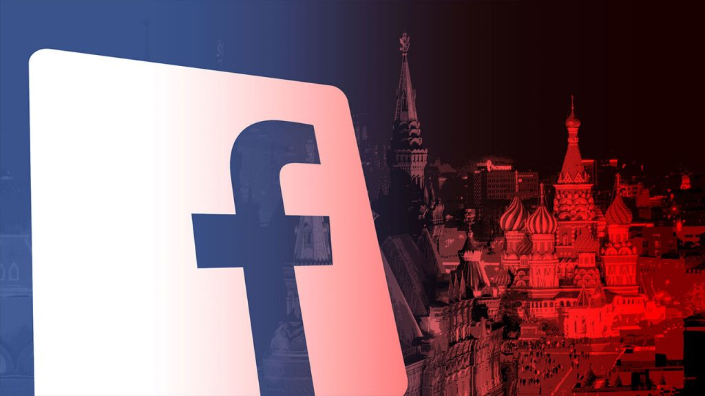 Fake account operation from Twitter and Facebook to Russia 1
