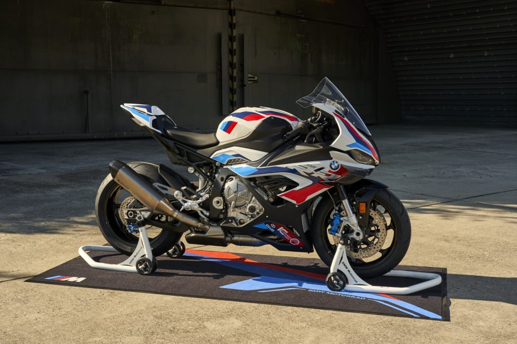 First M series motorcycle BMW M1000RR introduced 1