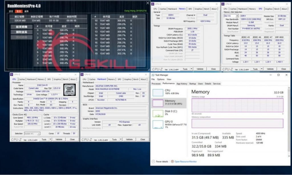 G.Skill Introduces Low Latency DDR4 Memory 1