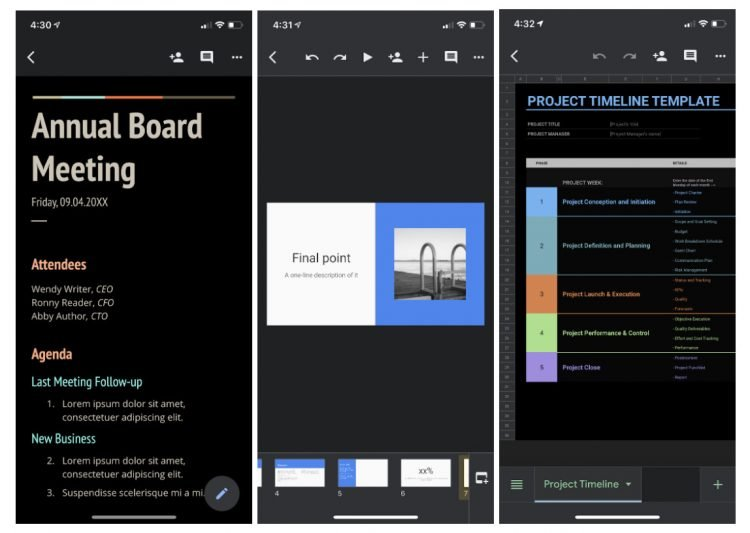 Google Brings Dark Theme Support For iOS Applications 1