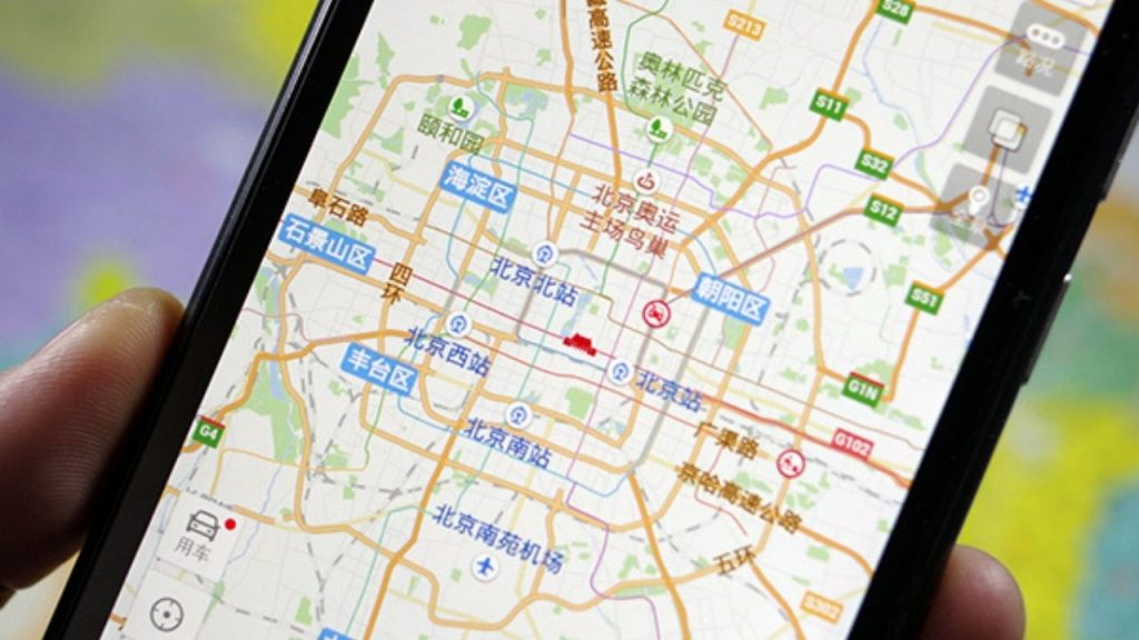 Huawei devices will have the new map application