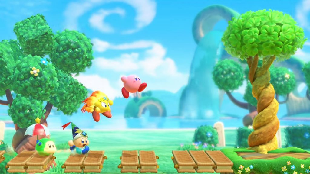 Nintendo announced the new Kirby game