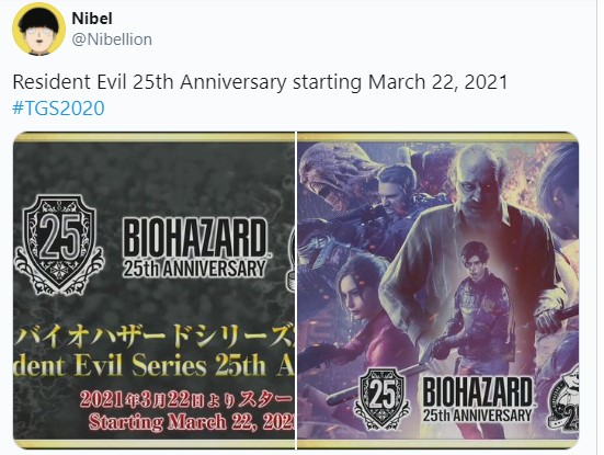 Resident Evil will celebrate its 25th anniversary Here is the date 1