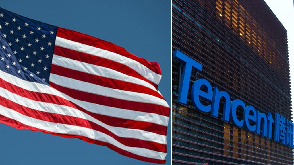 The United States began work for Tencent by analogy with TikTok