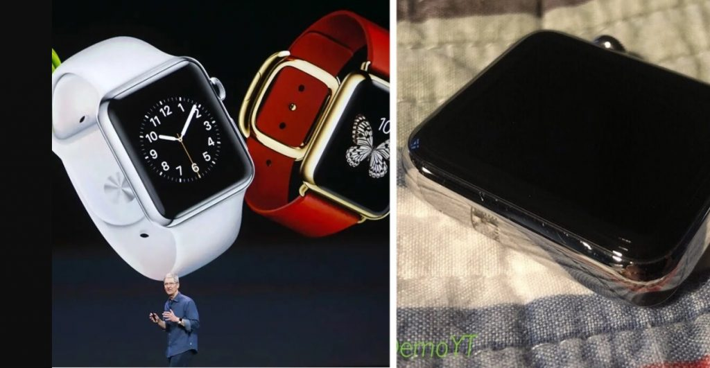 The first Apple Watch prototype appeared Interesting design