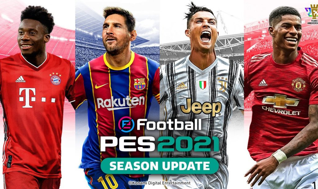 What does eFootball PES 2021, which was released the other ...