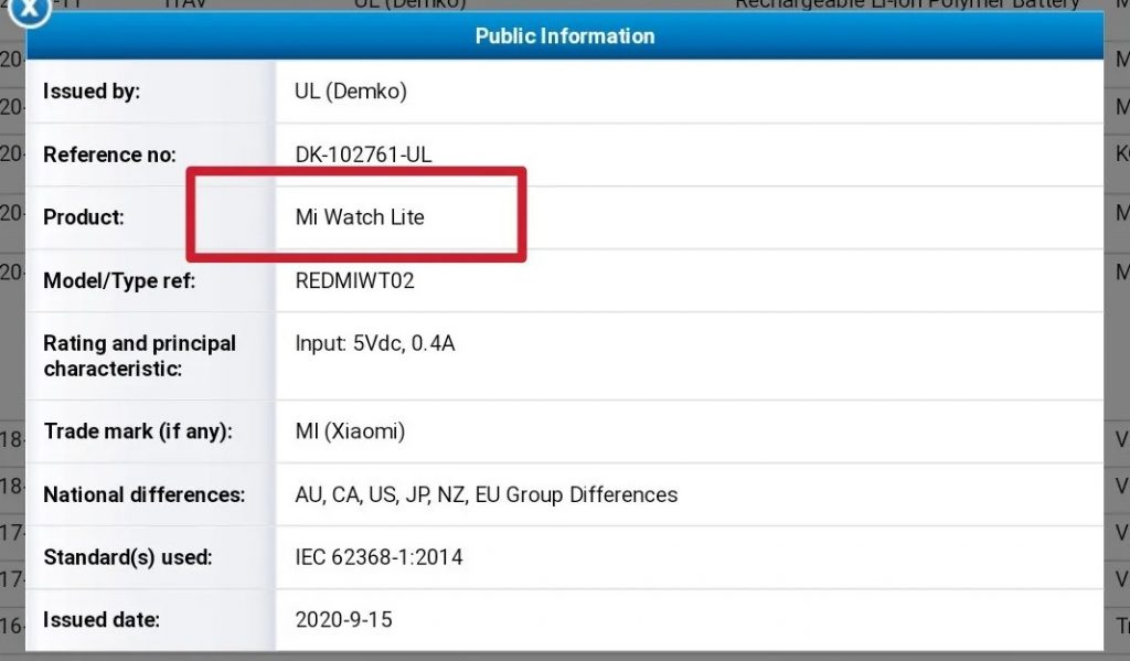 Xiaomi is preparing to announce the affordable version of Mi Watch Mi Watch Lite