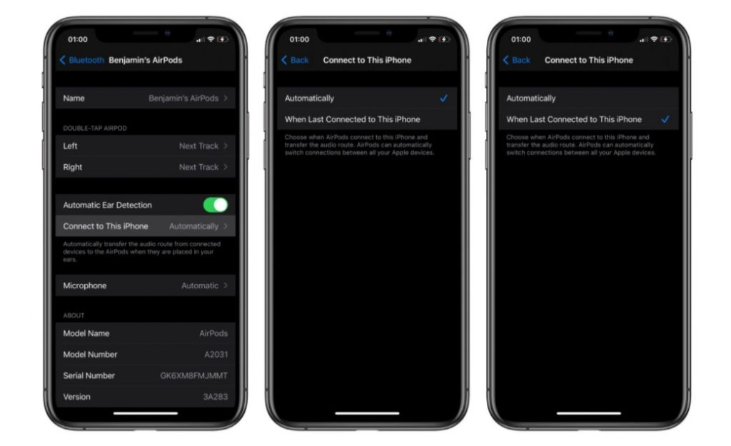 iOS 14 How to turn off AirPods auto switch 1
