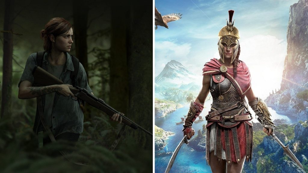 Female character preference rate changes in games
