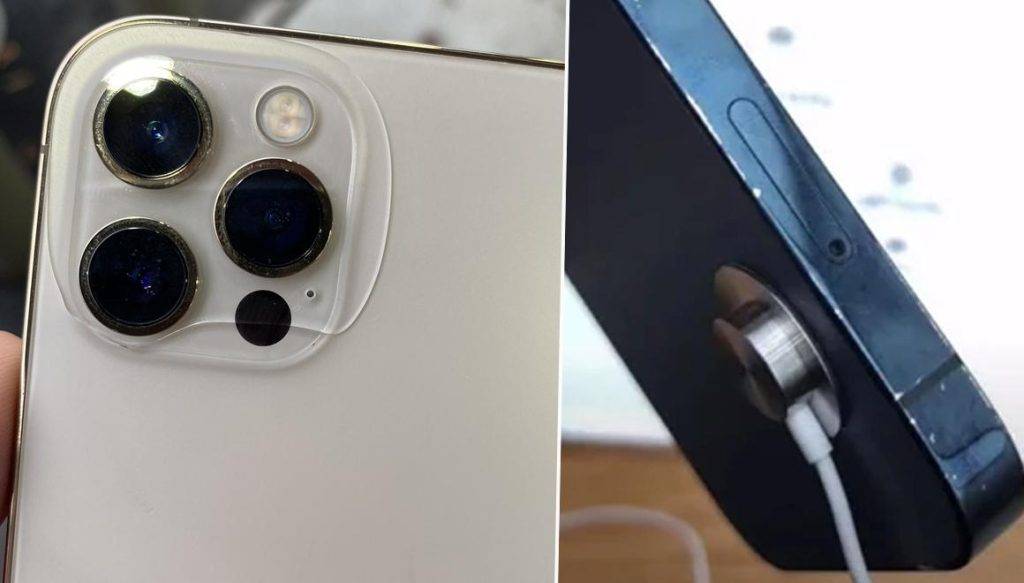 Frightening claim The paint of the iPhone 12 is peeling off it is breaking