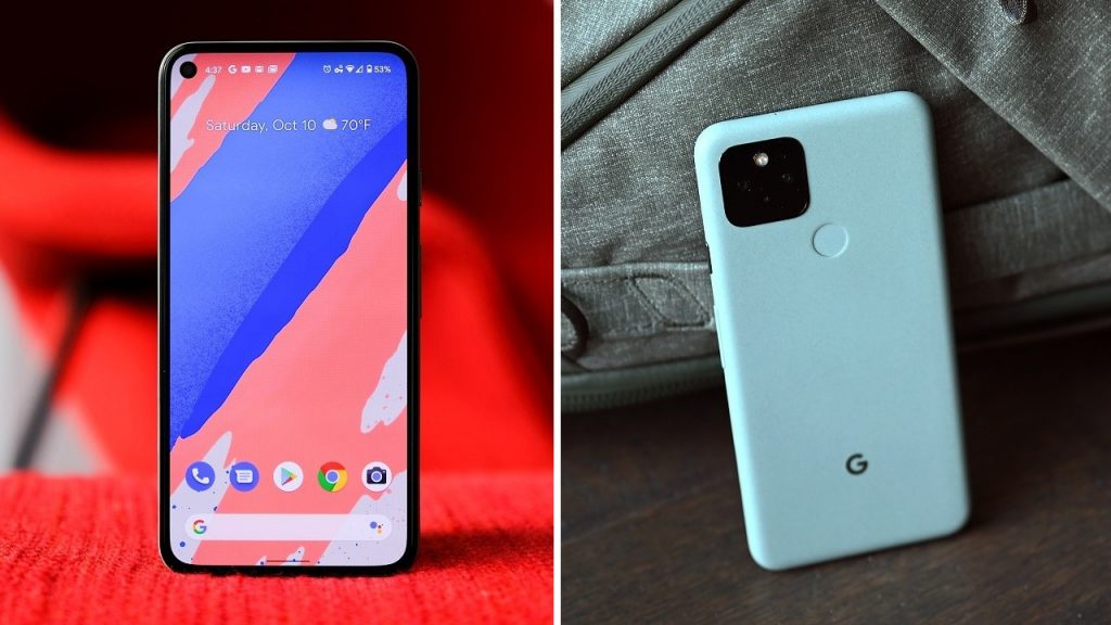 Google Pixel 5 came up with screen problem