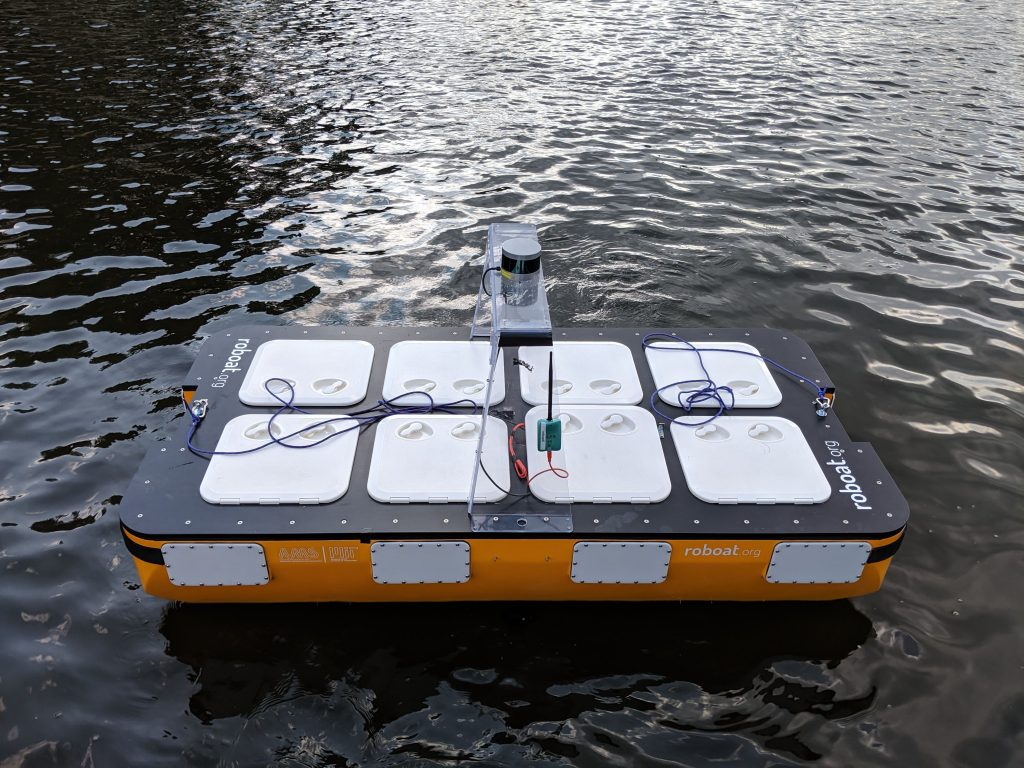 Here is the worlds first autonomous boat fleet Roboat project 1