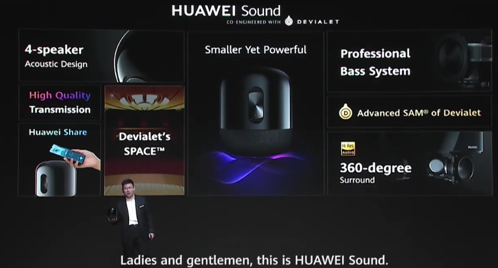 Huawei Sound introduced Here are the features and price 1