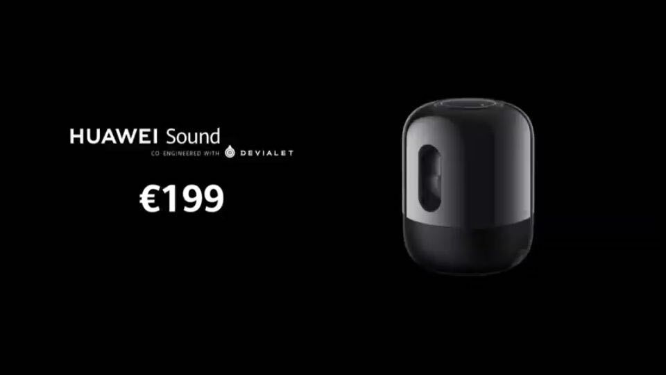 Huawei Sound introduced Here are the features and price 3