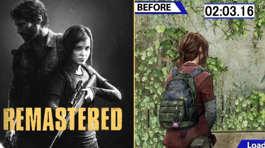 New update for TLOU Remastered