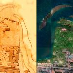 Old maps have been converted to satellite images