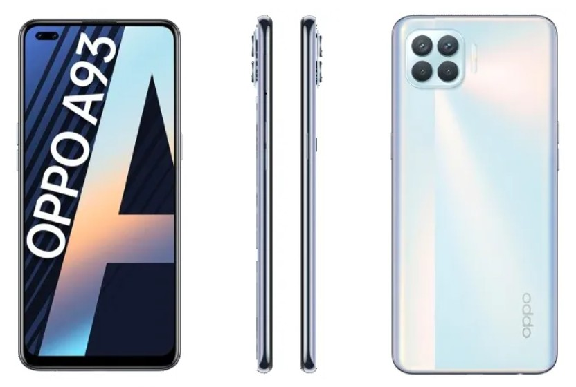 Oppo A93 introduced 6 cameras AMOLED screen and more