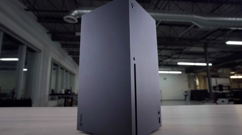 The expected moment Xbox Series X and Series S out of the box 1