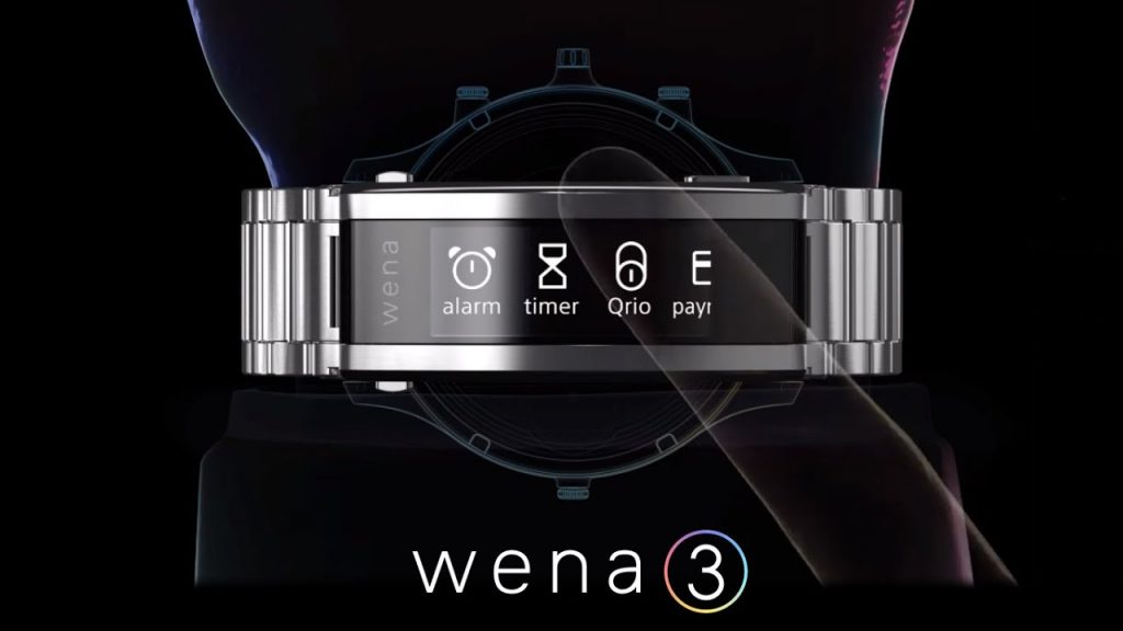 The smart bracelet Sony Wena 3 is launched 1