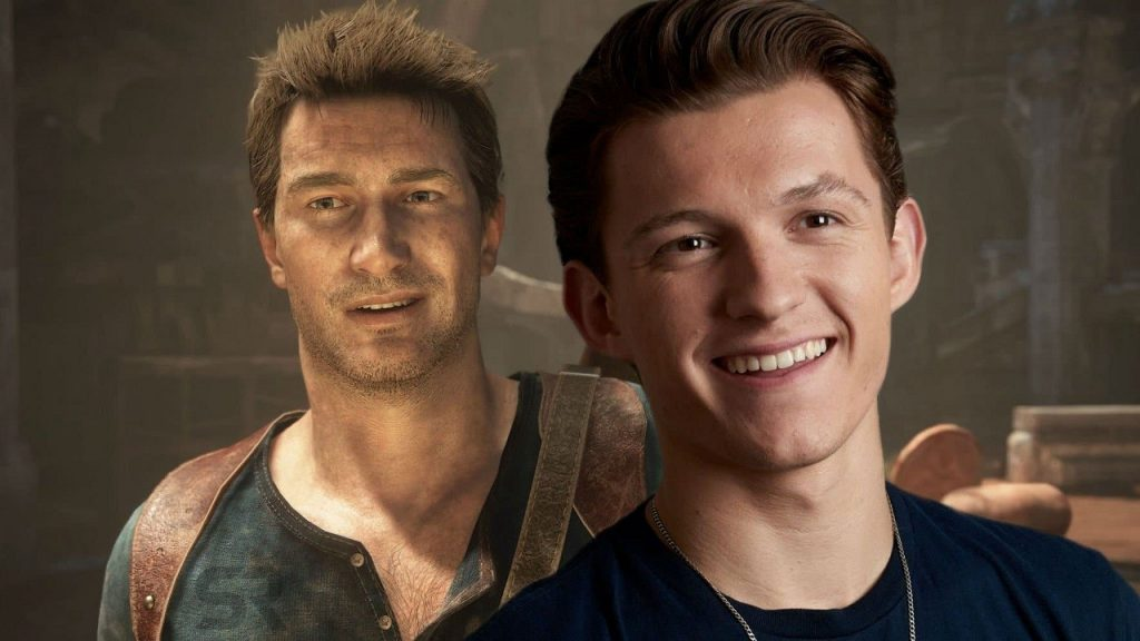 Tom Holland shared a frame from Uncharted movie