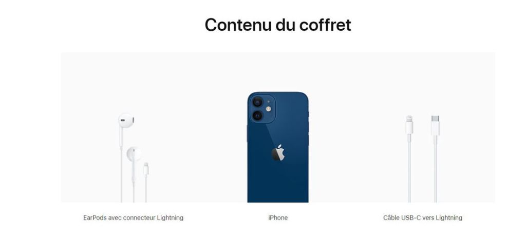 iPhone 12 box contents will be different in France 1