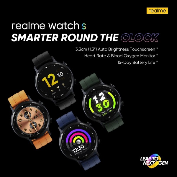 realme Watch S launch date announced 1