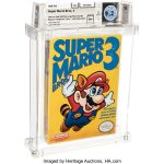 32 Year Old Mario Game Protected As It Was On The First Day Sold For 156 Thousand