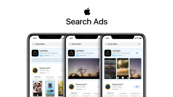 Apple started showing ads on iPhone and iPad