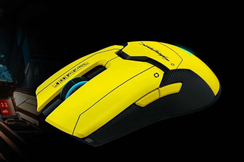 As the Cyberpunk 2077 wait continues Razer signed mouse 1