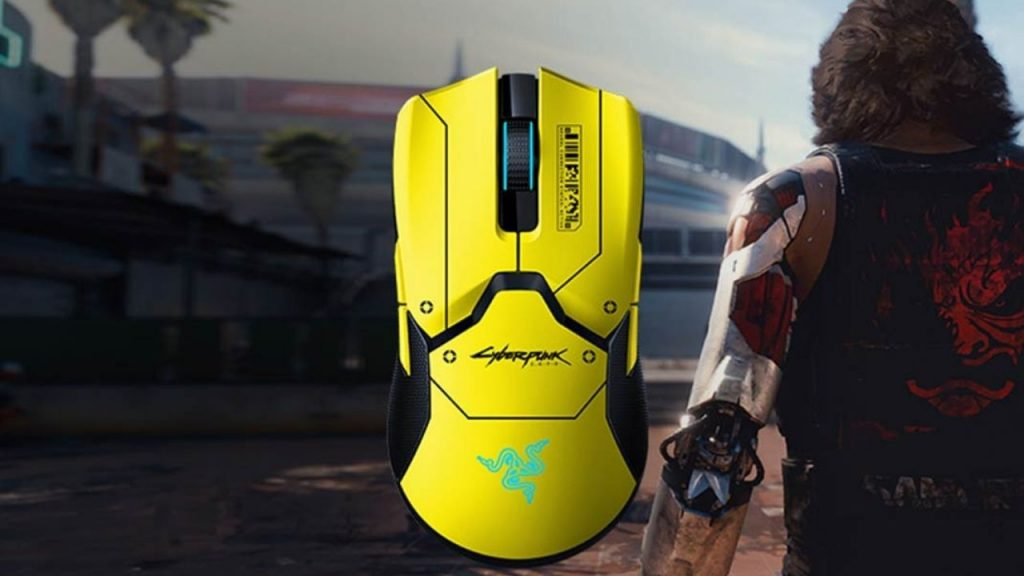 As the Cyberpunk 2077 wait continues Razer signed mouse