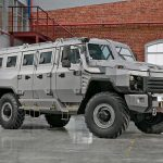 Buran 4×4 Armored Vehicle Can Withstand a 600g TNT Blast