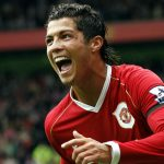 Cristiano Ronaldo signed with Manchester United